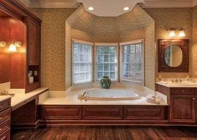 Bathroom Bedroom at Lake Toxaway Rental 5 bedroom 5 bath Cardinal Zen