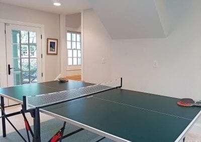 pingpong table in Lake Toxaway Rental 5 bedroom 5 bath Cardinal Zen 14