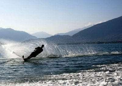 waterski Lake Toxaway Rental 5 bedroom 5 bath Cardinal Zen 14