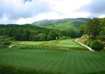 golf course at Lake Toxaway Rental 5 bedroom 5 bath Cardinal Zen 14