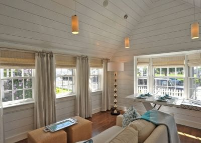 View of living area of Nantucket Luxurious Harbor View Cottage Walk to everything1