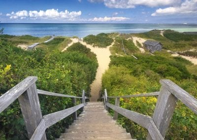 nantucket beach view of Nantucket Luxurious Harbor View Cottage Walk to everything23
