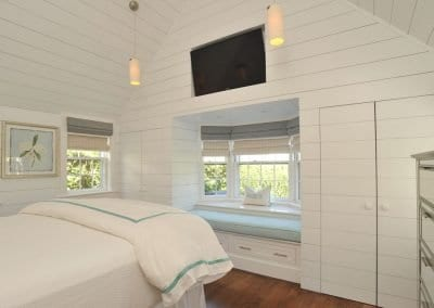 Bedroom view in Nantucket Luxurious Harbor View Cottage Walk to everything23
