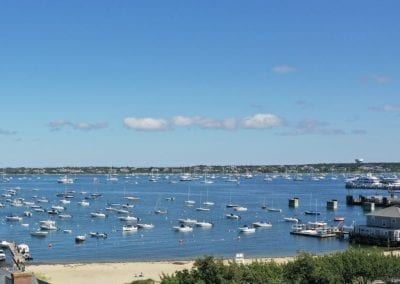 View of Nantucket Harbor. Nantucket Luxurious Harbor View Cottage Walk to everything1