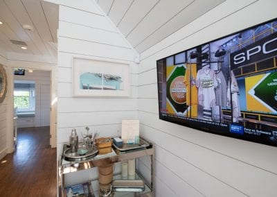Hallway view of Nantucket Luxurious Harbor View Cottage Walk to everything1