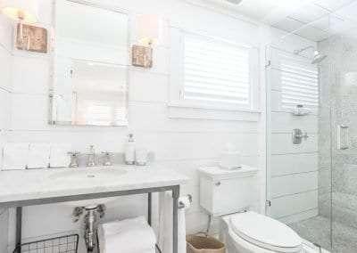 Marble bathroom Nantucket, MA Luxury 2 bedroom Rental Harbor View Elizabeth61