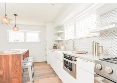 High end kitchen of antucket MA Rental Cottage, Water View, Beautiful Beach inspired interior