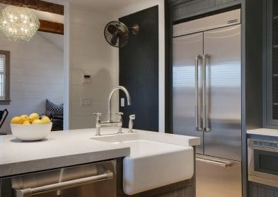 Pristine kitchen with marble and top appliances Nantucket Rental Cottage Harborview Cindy sleeps 4