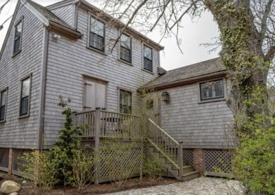 Outside view of Nantucket Rental Cottage Harborview Cindy sleeps 4