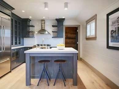 High end kitchen of Nantucket 2 bedroom Rental Home Harborview Ackceptional Cindy