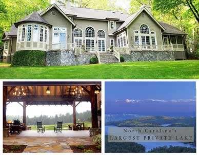 Back yard at Lake Toxaway Rental Ackceptional Rental 5 bedrooms Outdoor