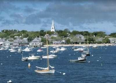 view of nantucket harbor for Ackceptpional Nantucket Luxury Rentals