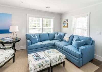 Open floor plan at Ackceptpional Nantucket Luxury Rentals