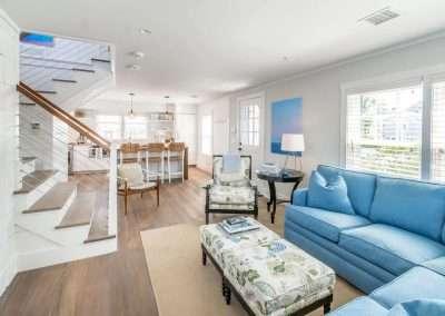 Open Living at MelAnge cottage Ackceptpional Nantucket Luxury Rentals