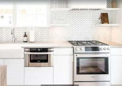 Kitchen at Ackceptpional Nantucket Luxury Rentals