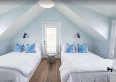Bedroom at Ackceptpional Nantucket Luxury Rentals