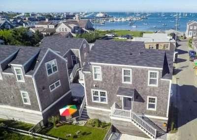 View of homes at Ackceptpional Nantucket Luxury Rentals