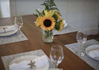 Table at Ackceptpional Nantucket Luxury Rentals