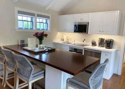 eat in kitchen of Ackceptional Nantucket Rental