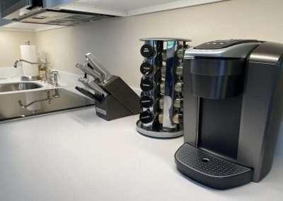 kitchen amenities of Ackceptional Nantucket Rental
