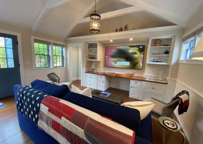 large open living area of Ackceptional Nantucket Rental