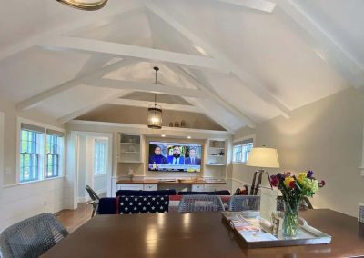 large open living space of Ackceptional Nantucket Rental