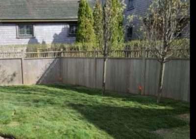 large back yard of Nantucket Rental
