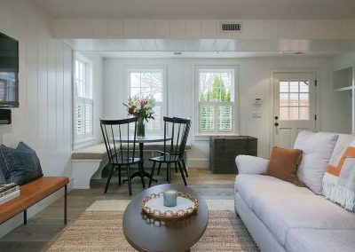 family room with seating of Nantucket Rental