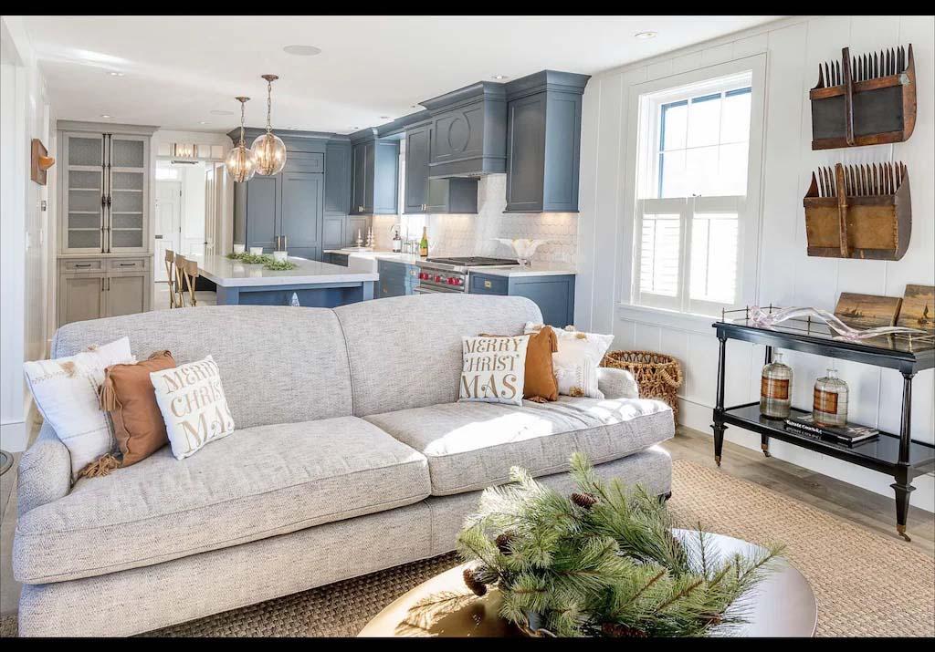 family room of Nantucket Rental