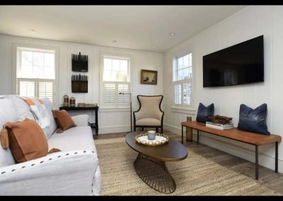 family room of Second Wind II from Aceptional Nantucket Rental