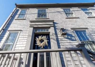 front of home of Nantucket Rental