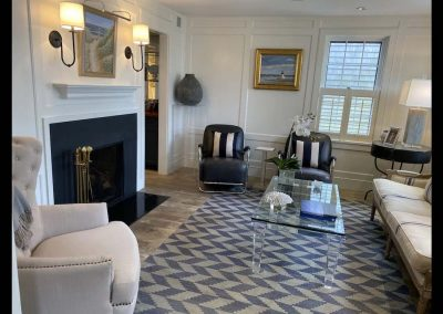 living room of Nantucket Rental