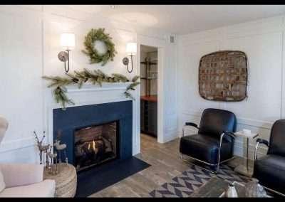 Fireplace Nantucket Rental