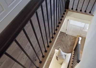 STAIRCASE of Ackceptional Nantucket Rental