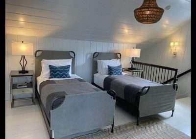 TWIN BEDROOM of Ackceptional Nantucket Rental