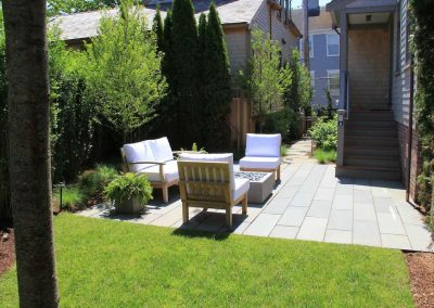Large furnished back yard of Ackceptional Nantucket Rental