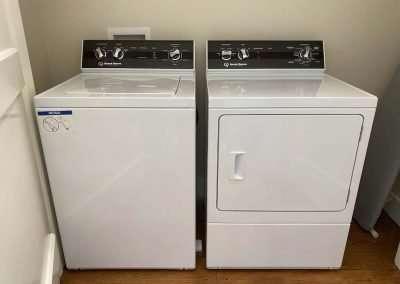 washer dryer of Heather cottage Ackceptional Nantucket Rental